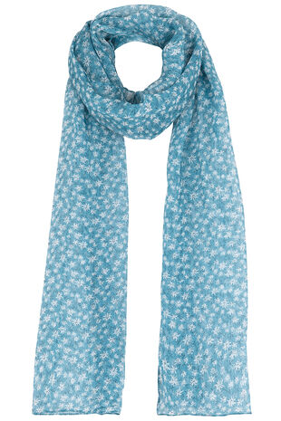 Floral & Ditsy Printed Scarf