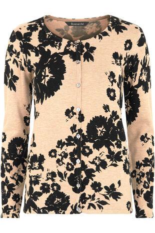 Floral Printed Cardigan
