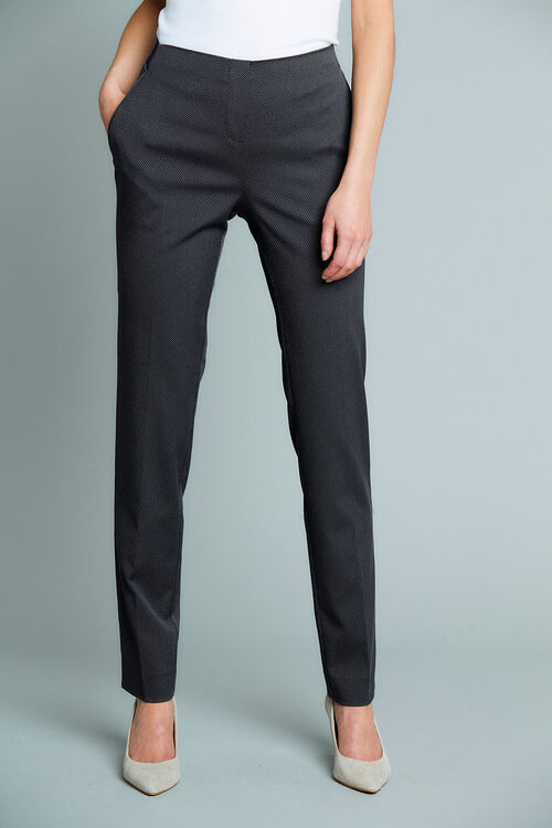 Spot Elastic Back Trousers