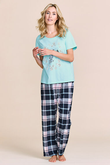 Hedgehog Placement Print Pyjamas