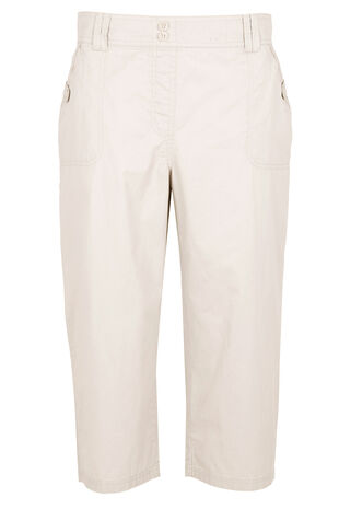 Cargo Cropped Trousers