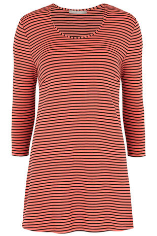 Ann Harvey Stripe Jersey Top