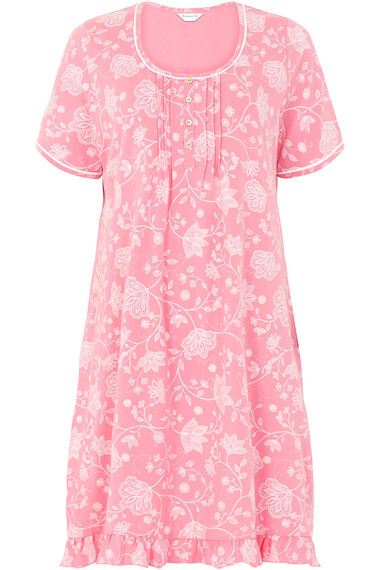 Outline Floral Nightdress