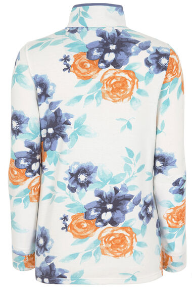 Printed Funnel Neck