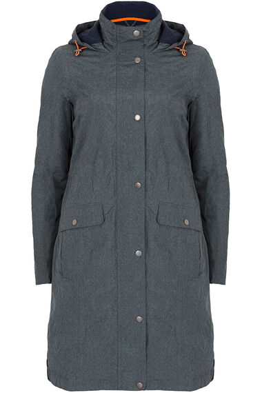 Longer Length Fleece Lined Waterproof Coat