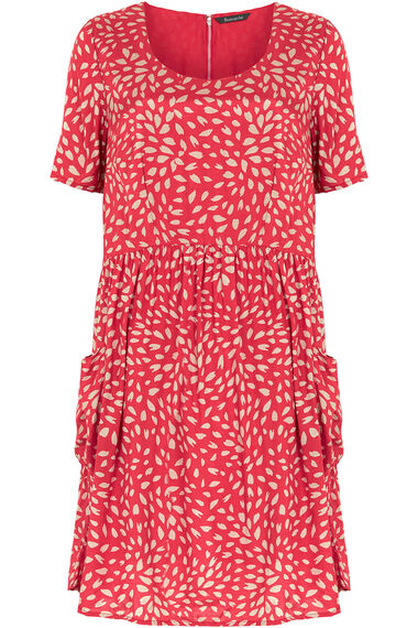 Ann Harvey Petal Print Shift Dress