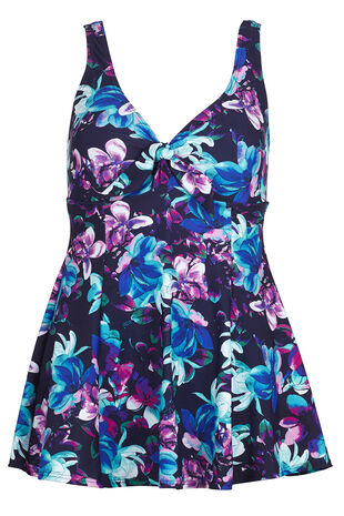 Magnolia Print Swim dress