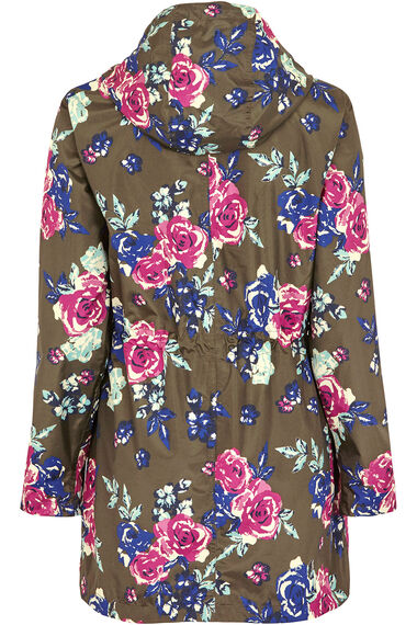 Floral Waterproof Coat