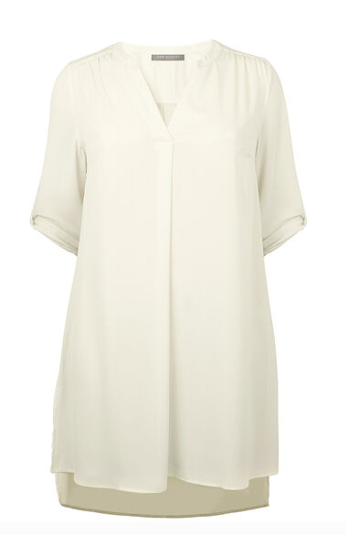 Ann Harvey Dipped Hem Longline Blouse