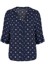 Drawn Spot Blouse