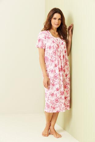 Floral Print Nightdress