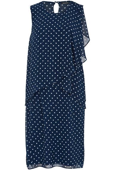 Double Layered Spot Dress