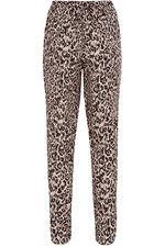 Animal Print Harem Trousers