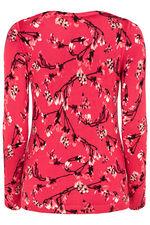 Floral Magnolia Print Jumper