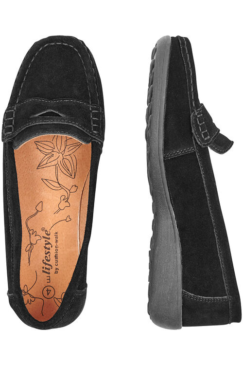 Suede Penny Loafer
