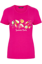 Fruit Print T-Shirt