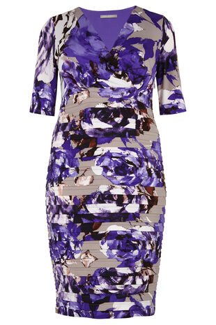 Ann Harvey Floral Shutter Dress