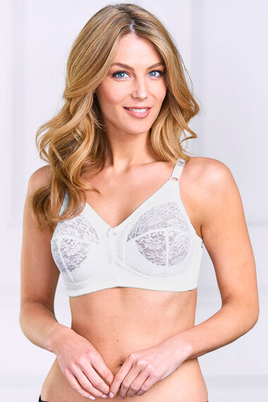 Lace Cup Non Wired Control Bra