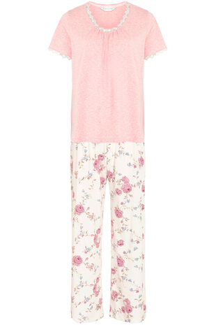 Pink Marl Rose Pyjamas