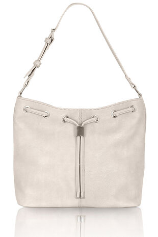 Drawstring Detail Cross Body Bag