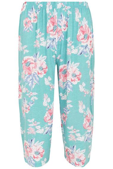 Floral Cropped Pyjamas