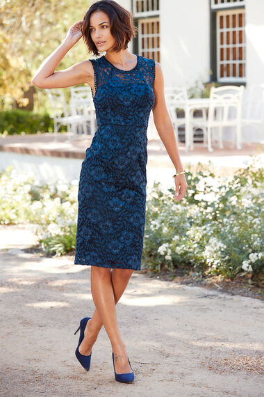 Signature Lace Shift Dress