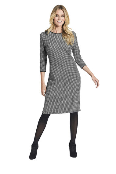 Geometric Print Tunic Dress