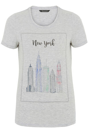 New York Print T-Shirt