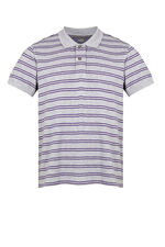 Stripe Pique Polo