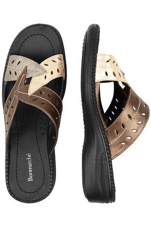 Leaf Mule Sandal
