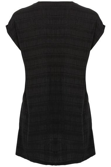 Ann Harvey Textured Sleeveless Blouse