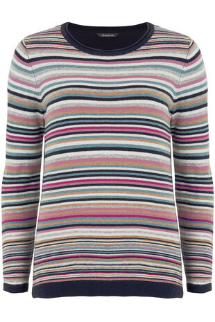 Multi Stripe Jumper