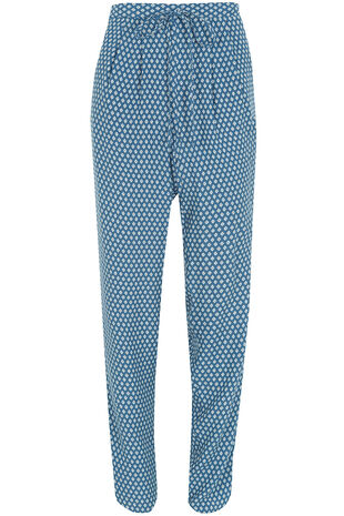 Geo Printed Harem Trousers