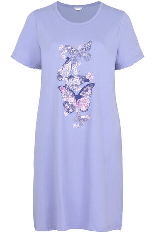 Butterfly Placement Nightdress