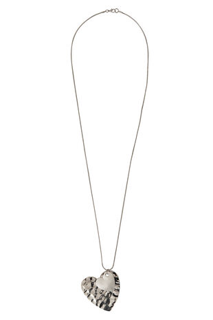 Ann Harvey Hammered Heart Necklace