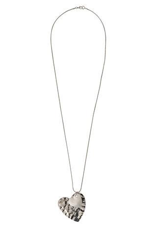 Ann Harvey Hammered Heart Necklace