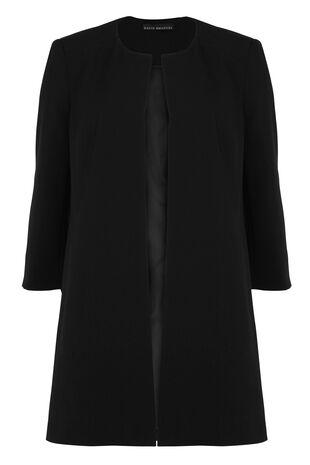 David Emanuel Dress Coat