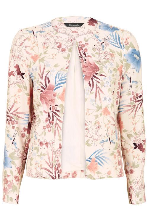 Signature Bird Print Jacket