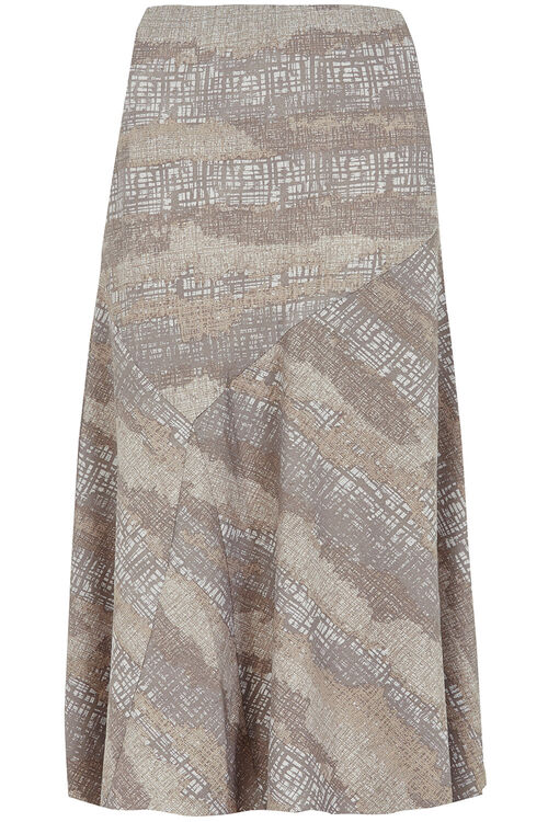 Printed Flippy Skirt