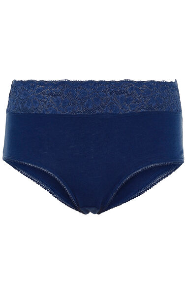 Cotton Lace Waist Brief