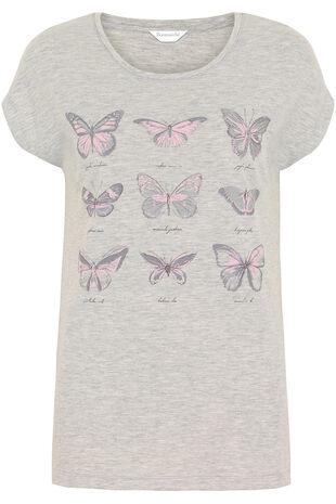 Butterfly Pyjama Top