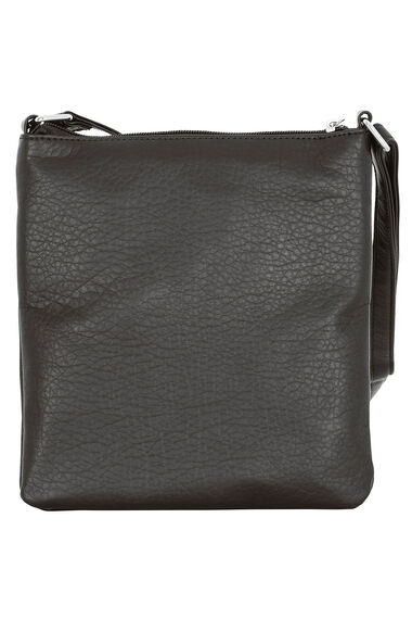 Zip Trim Cross Body Bag