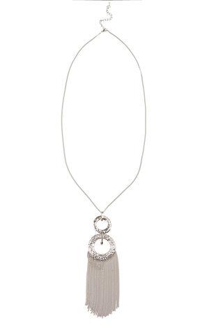 Ann Harvey Hammered Disc Necklace