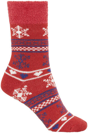 Printed Slipper Sock