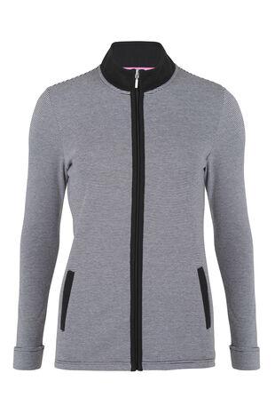 Activewear Zip Up Sweater