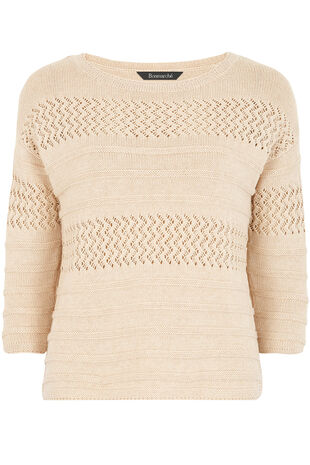 Pointelle Knit Jumper