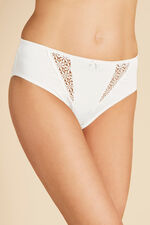 Lace Insert Brief