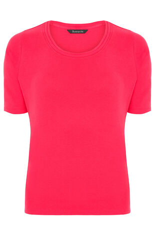 Scoop Half Sleeve T-Shirt