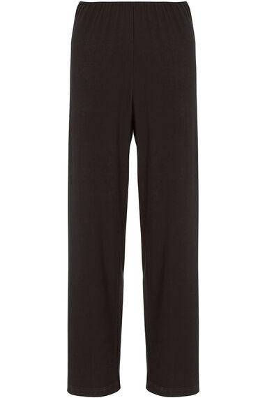 Wide Leg Stretch Trousers