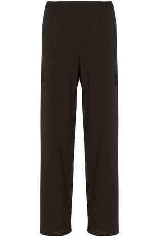 Wide Leg Stretch Trousers
